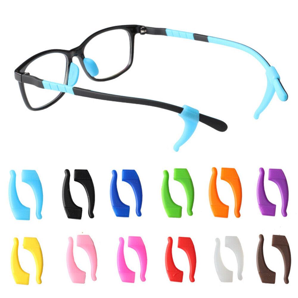 1 Paar Rutschfest Ohr Haken Brillen Werkzeug Brillen Silikon Tempel Schutz