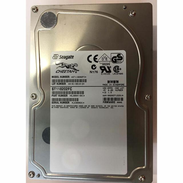 Seagate 18GB, 10K RPM, FC - ST118202FC