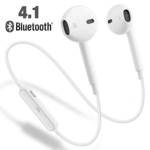Dettagli su Auricolari Cuffie Bluetooth Sport 4.1 Wireless senza fili iPhone Samsung Huawei