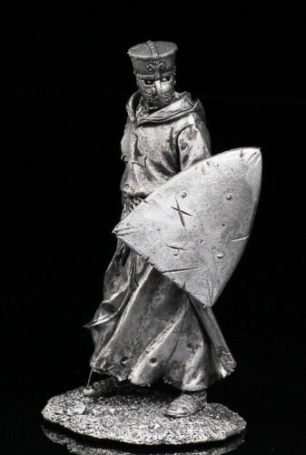 Crusader Knight 1200Tin Toy Soldier 75mmMetal Figuresol-75-076