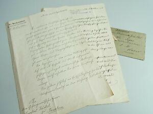 Anstellung Aufseher 1899 & Hausvater 1905 Strafgefängnis Jva Tegel JÄckel Spezieller Sommer Sale B