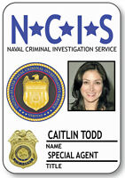 Name Badge Halloween Costume Caitlin Todd Special Agent Ncis Safety Pin Back
