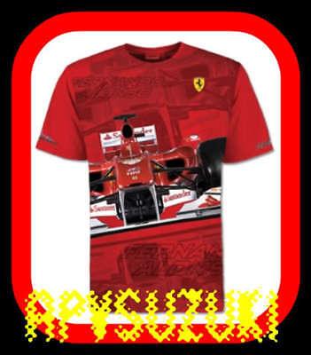 FERRARI Camiseta Producto Oficial ALONSO talla XL