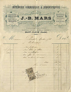 15 Saint-flour Courrier Imprimerie Jb Mars 1904 Ygg6iekf-07214222-737225514