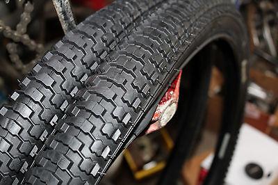 Snakebelly 26 x 2.125 BMX cruiser tire YELLOW//GUM WALL 1 pair