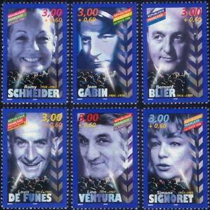 France-1998-Cinema-Films-Actors-Actresses-Acting-People-Movies-6v-set-n45413