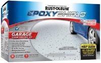 (2) Ea Rustoleum 252625 Epoxy Shield 1 Gallon Base Garage Floor Paint Kits