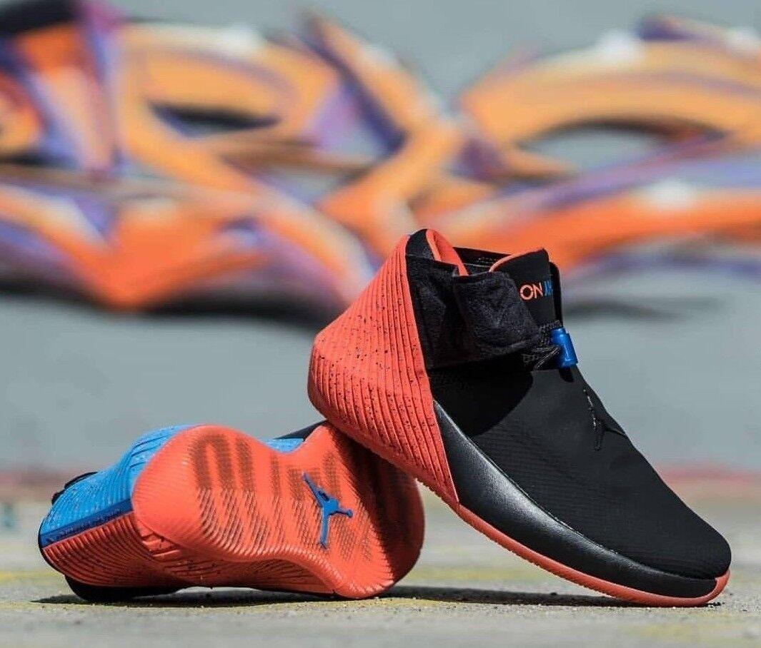 Nike Jordan Why Not Zero.1  AA2510 015 Black Signal bluee Men's Basketball shoes