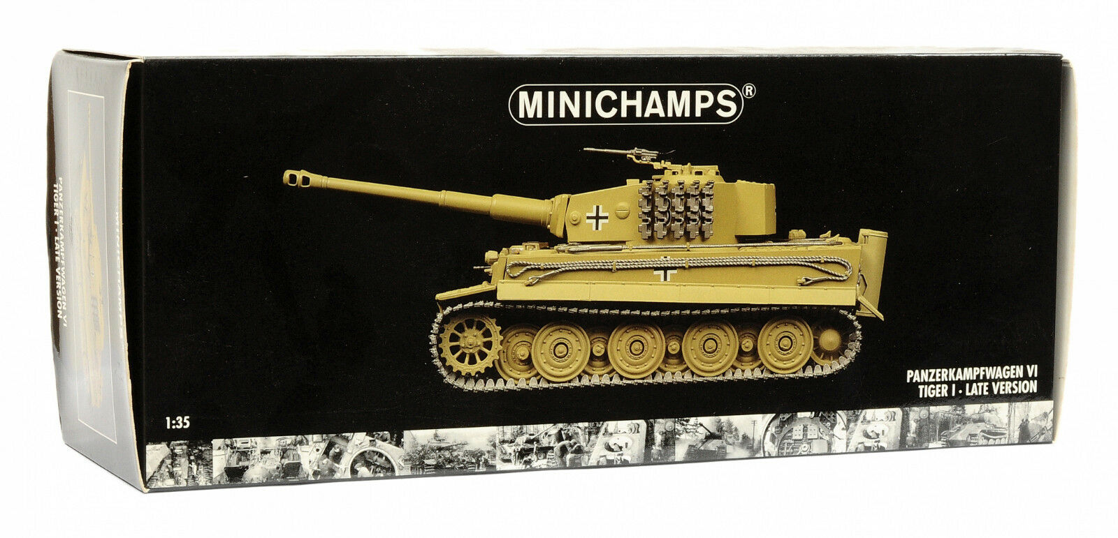 Minichamps 1 35 Panzerkampfwagen VI TIGER I Late Version