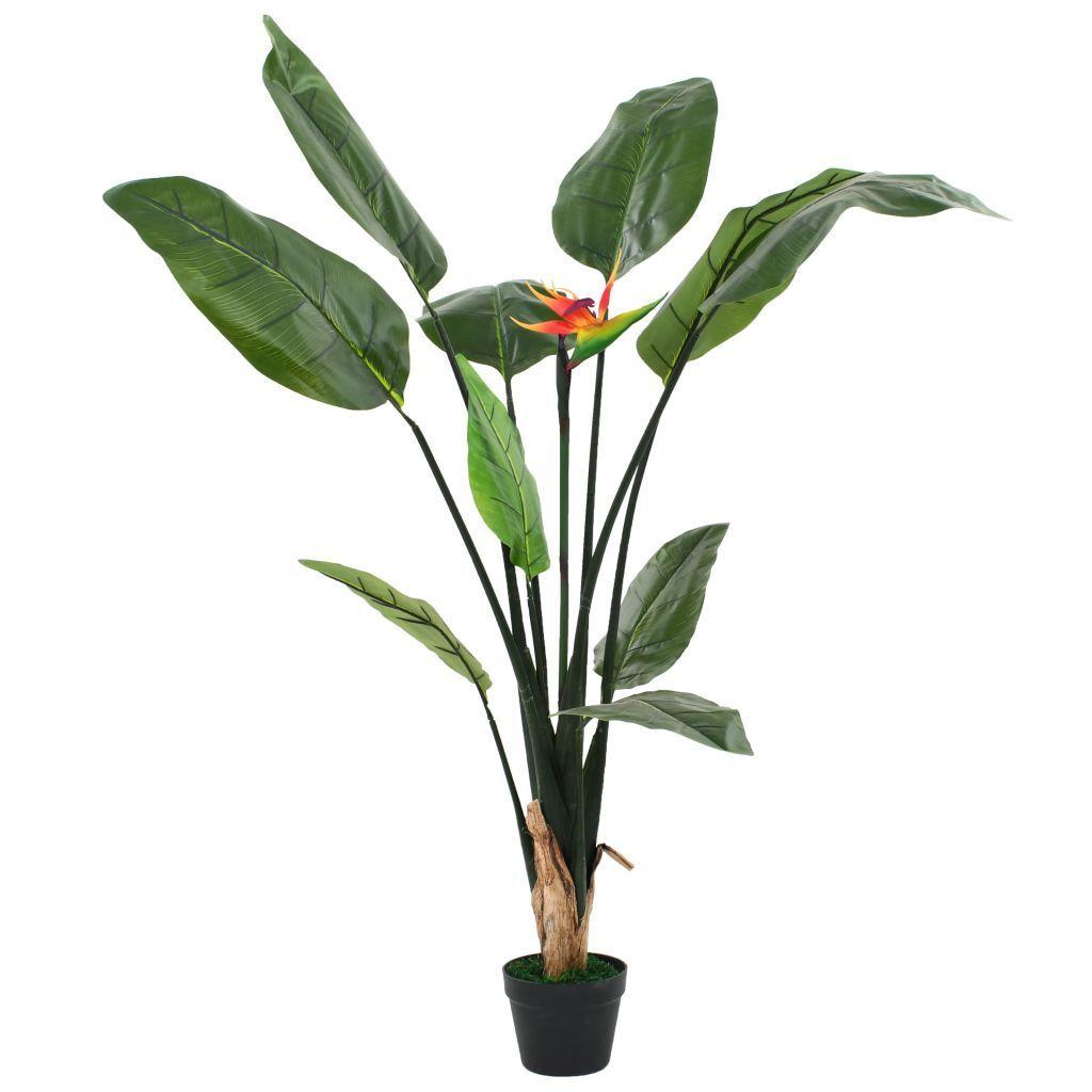 Artificial Plant Bird of Paradise Strelitzia Reginae Home Office Pot 155 cm