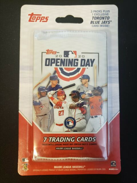 2020 Topps Opening Day Canada Exclusive Blister Pack SEALED Bichette RC? QTY