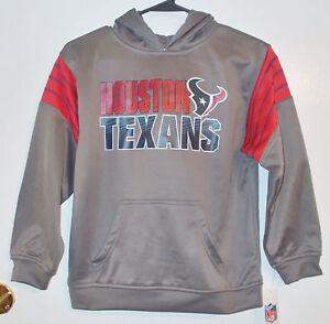 72856b418 Image is loading NFL-Team-Apparel-Boys-Houston-Texans-Football-Pullover-