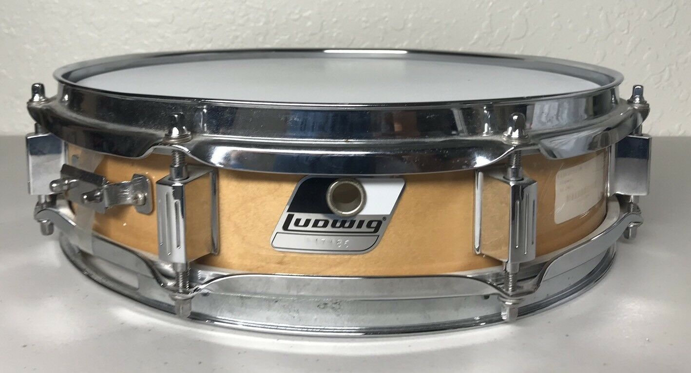 LUDWIG Snare Drum Stainless SN  317186