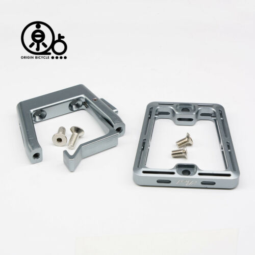 Push Down Release Front Carrier Block CNC Machined For Brompton Bicycle