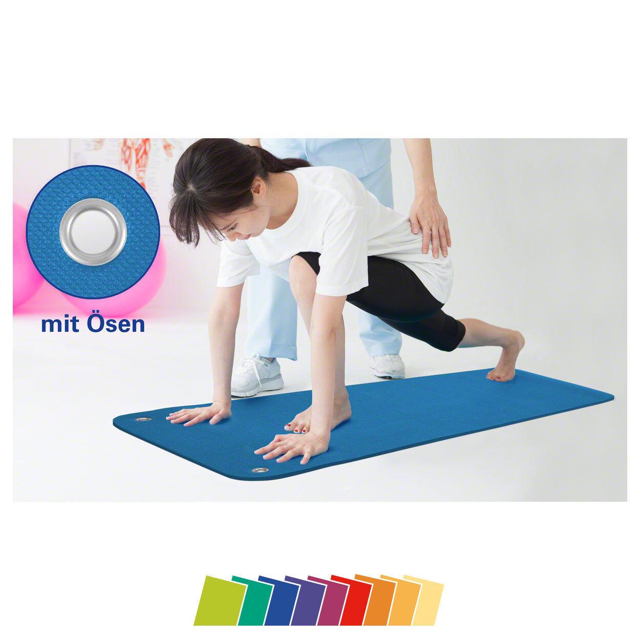 Sport-Tec Therapiematte inkl. Ösen LxBxH 140x60x1 5 cm