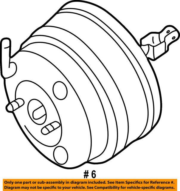 Buy Infiniti Nissan Oem 05 06 Q45 Power Brake Booster 47210cr927