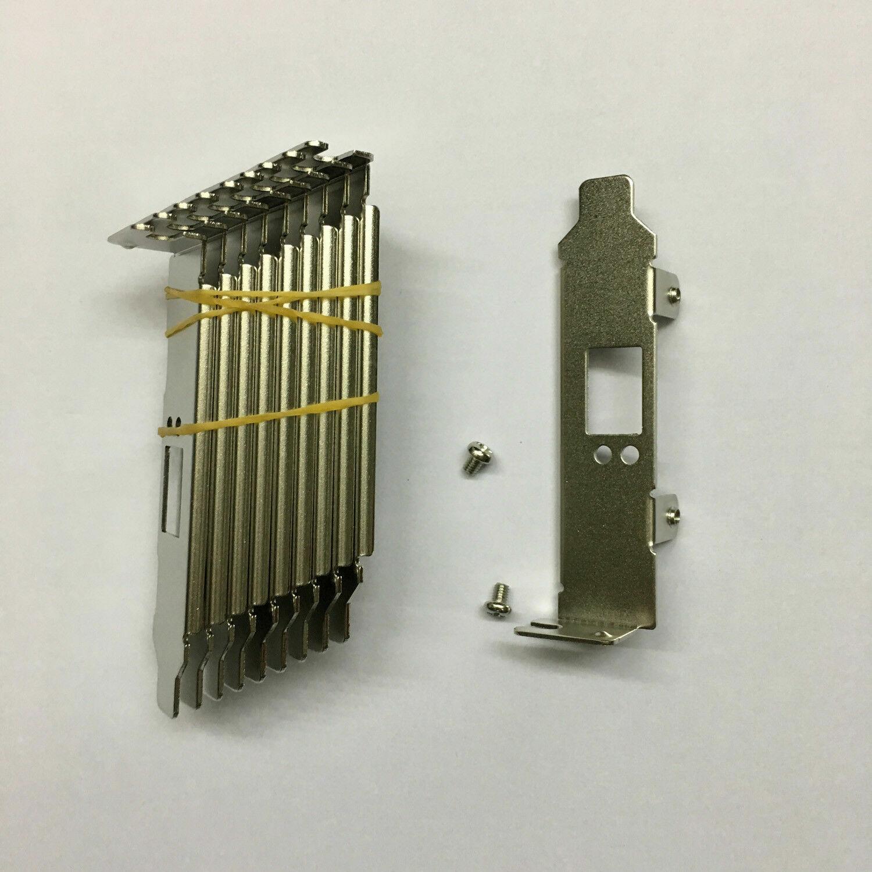 50PCS Low Profile PROFILE BRACKET FOR CX311 CX311A MCX311A-XCAT Network Card