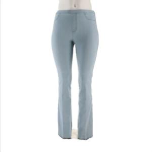 Isaac-Mizrahi-Live-Regular-24-7-Denim-Boot-Cut-Jeans-Bleached-indigo-Size-20
