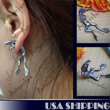 The Frog Prince Puncture Ear Stud Womens Mens Unisex Earring 1pc