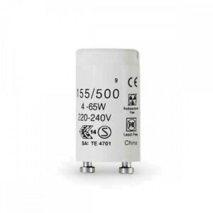 Details About GE 3x Universal 155 500 4 80W Fluorescent Tube Starter 65w 4w