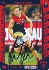 ✺Signed✺ 2016 MELBOURNE DEMONS AFL Card DOM TYSON
