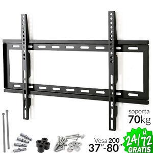 SOPORTE-TV-PARED-LED-LCD-PLASMA-37-034-a-80-034-70kg-VESA-200-mm-MONITOR-BRACKET-DIY