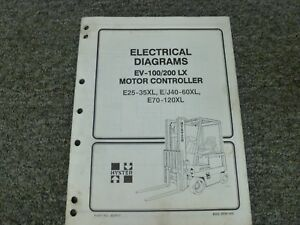 image is loading hyster-ev100lx-ev200lx-scr-motor-controller-electrical- wiring-