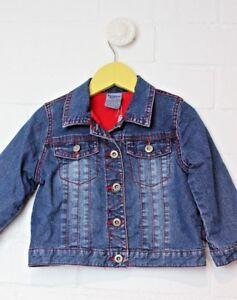 PUMPKIN-PATCH-Denim-Jacket-with-fleece-lining-Size-2-warm-winter-coat-boys-girls
