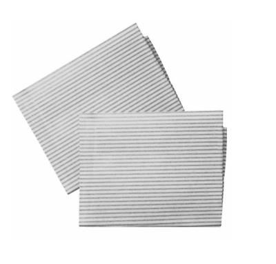 Universal tagliata a misura Cappa filtri con indicatore