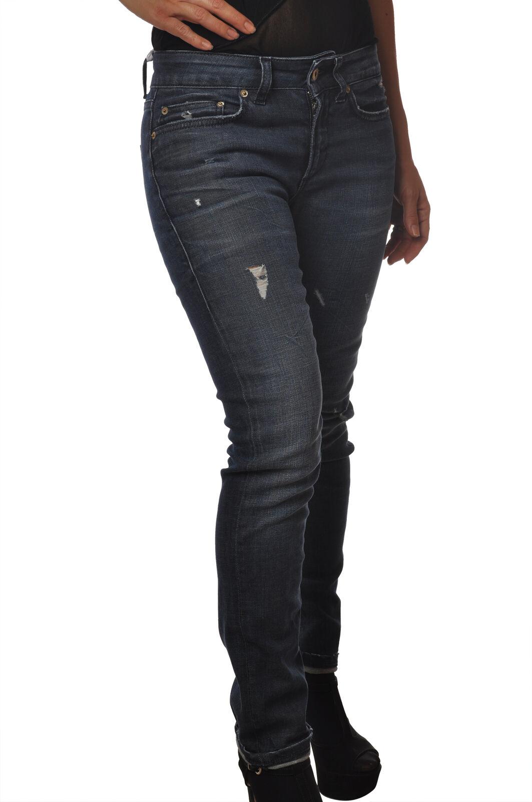Dondup - Jeans-Hose, slim fit - Frau - Denim - 5443409C191521