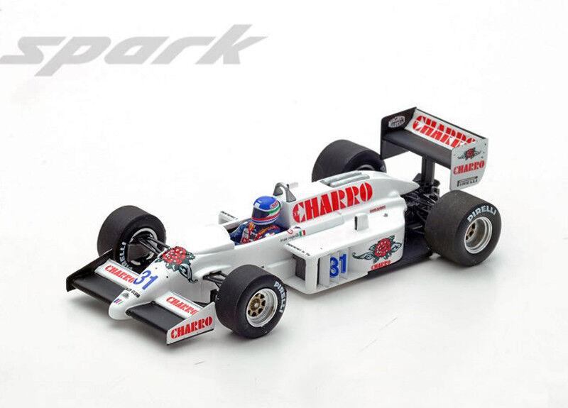 AGS JH21C Motori Moderni 1986 Ivan CAPELLI Italien GP 1 43 Spark