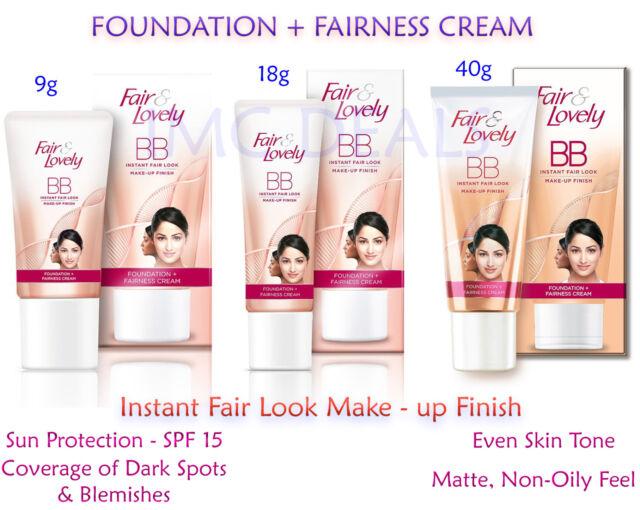 Fair & and Lovely BB Foundation Fairness Cream Matte SPF 15 PA++ Multi vitamins