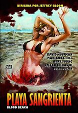 BLOOD BEACH (1980 David Huffman) -  DVD - PAL Region 2 - New
