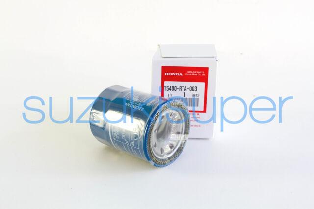 1 Genuine Honda Oil Filter 15400-RTA-003 Refer RYCO Z547