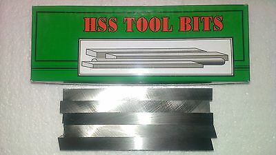 10 x M2 HSS Square Tool Steel Toolbits Blanks - 10mm x 125mm