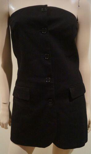 Top Strapless Joe Tunic Length Long Black Uk14 42 amp; 100 Bandeau Cotton Paul wBZHYvTqxW