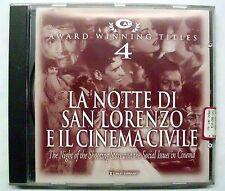 MORRICONE ENNIO NOTTE DI SAN LORENZO E IL CINEMA CIVILE CD NEW
