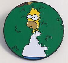Homer in Bush Simpsons Enamel Pin