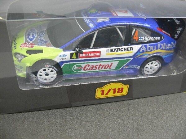 1 18 Rallye FORD FOCUS RS WRC 2007 Hirvonen Abu Dhabi Rallye  9