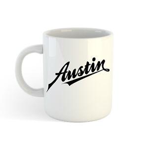 Austin-Logo-313ml-300ml-Stampato-Caffe-Tazza
