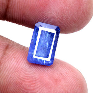 5-00-Cts-Natural-Tanzanite-Vibrant-Blue-Premium-Quality-Rare-Certified-Gemstone