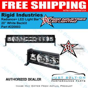 Rigid industries radiance 20 inch white back light led light bar la foto se est cargando rigid industries radiance 20 in approx 50 80 aloadofball Image collections
