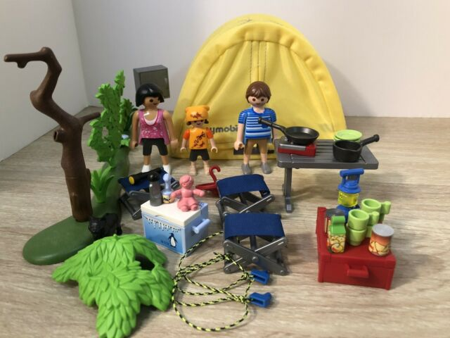 Playmobil Summer Fun Family Camping Trip Set #5435 ...