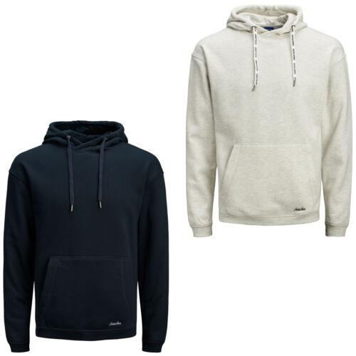 Jack /& Jones Originals Hoodie Drawstring Logo Long Sleeve Mens Hooded Sweater