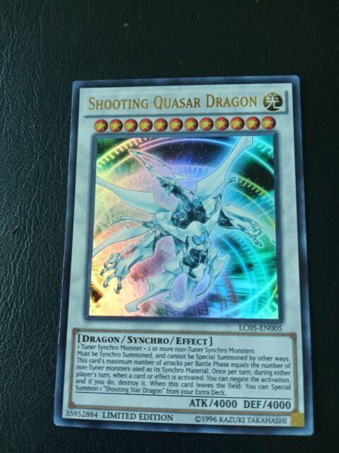 YUGIOH! Shooting Quasar Dragon LC05-EN005 - Ultra Rare ...