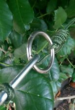 Stainless Steel Storm Rings - Basha Tarp Poncho Hammock Bushcraft Survival Camp
