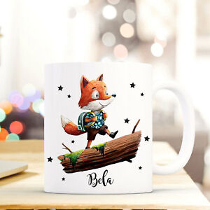 Begeistert Tasse Becher Fuchs Mit Name Wunschname Kaffeetasse Bedruckt Kaffeebecher Ts771 Tassen Kindergeschirr & -besteck