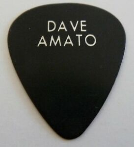 REO-Speedwagon-Dave-Amato-Black-Tour-Concert-Issued-Guitar-Pick