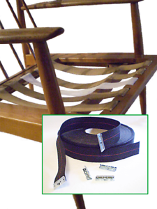 Image Is Loading DIY Danish Modern Chair Amp Furniture Webbing Repair
