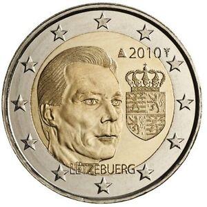 LUXEMBOURG 2 EURO 2004 Effigy and Monogram of Grand Duke Henri UNC NEW COIN G334